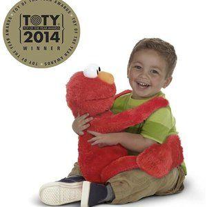 """Sesame Street Big Hugs Me Elmo Plush 22"""""""
